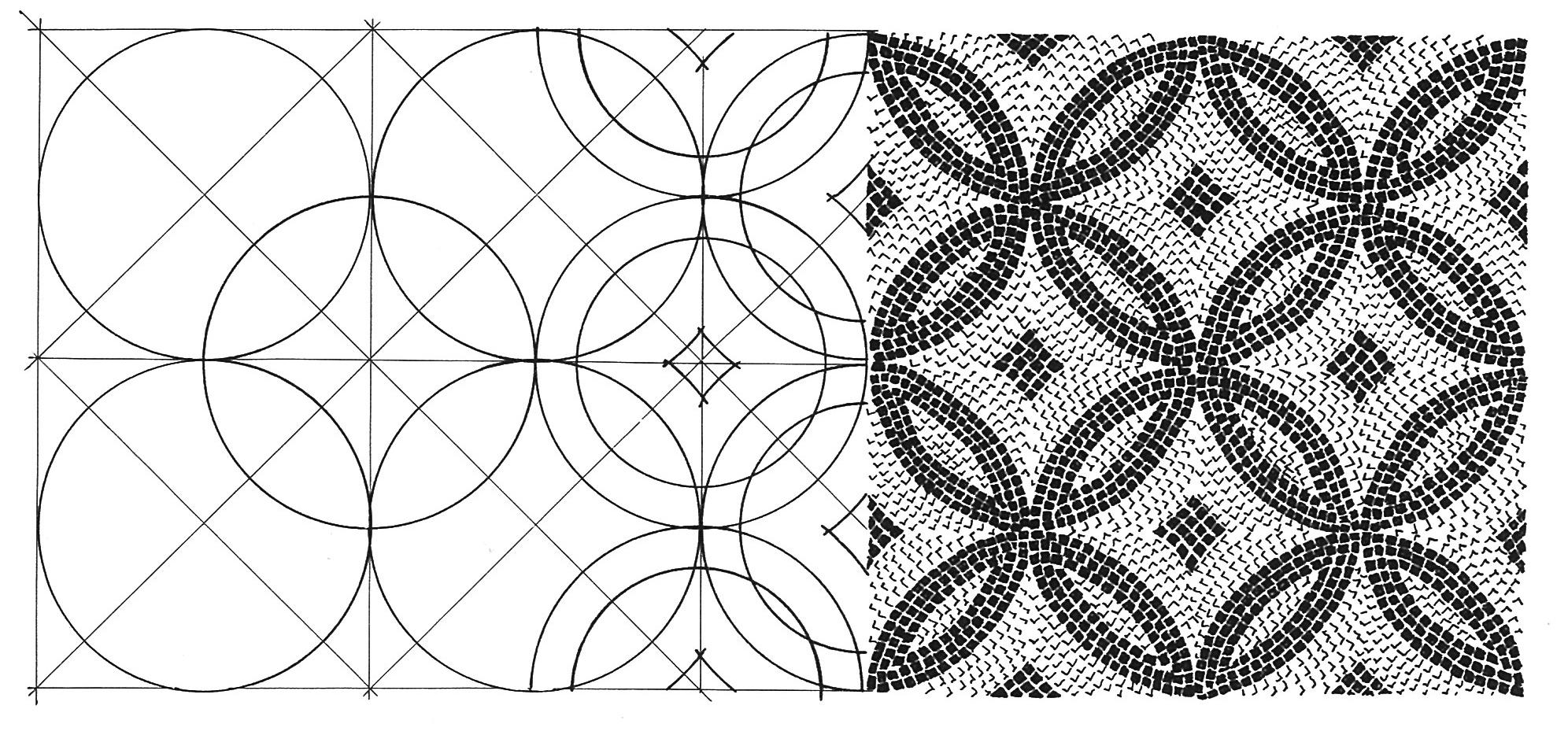 Ornamenti mosaici romani for Disegni per mosaici da stampare